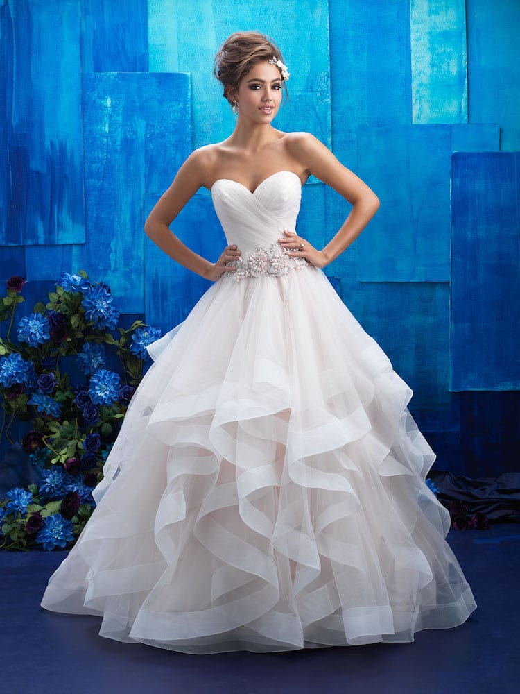 Allure Bridals Gown Style 9408