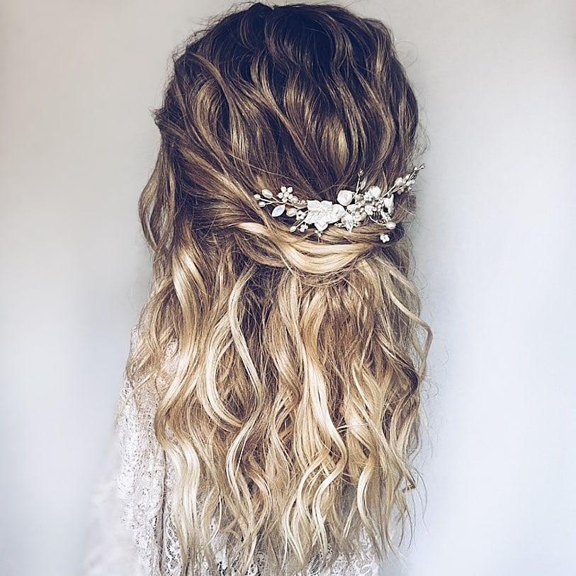 Wildeflower hair company creation in boho style. Hair vine