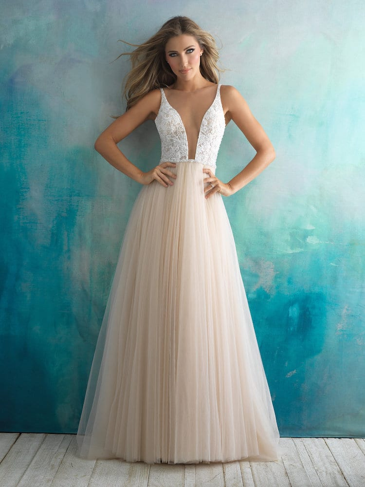 Allure Bridals Gown Style 9500
