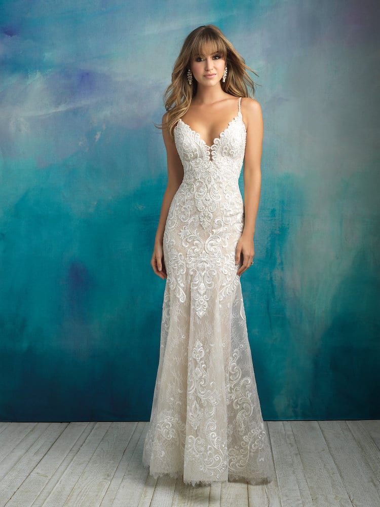 Allure Bridals Gown Style 9501