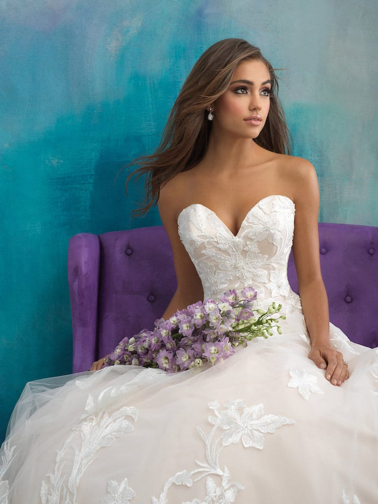 Allure Bridals Gown Style 9502