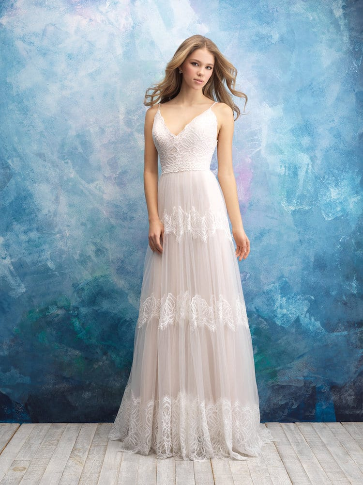 Allure Bridals Gown Style 9555