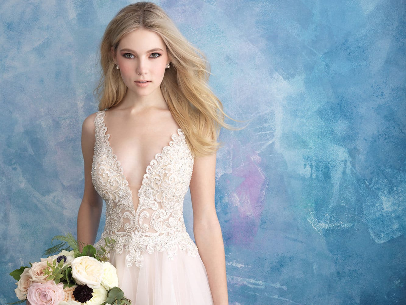 Allure Bridals Gown Style 9557