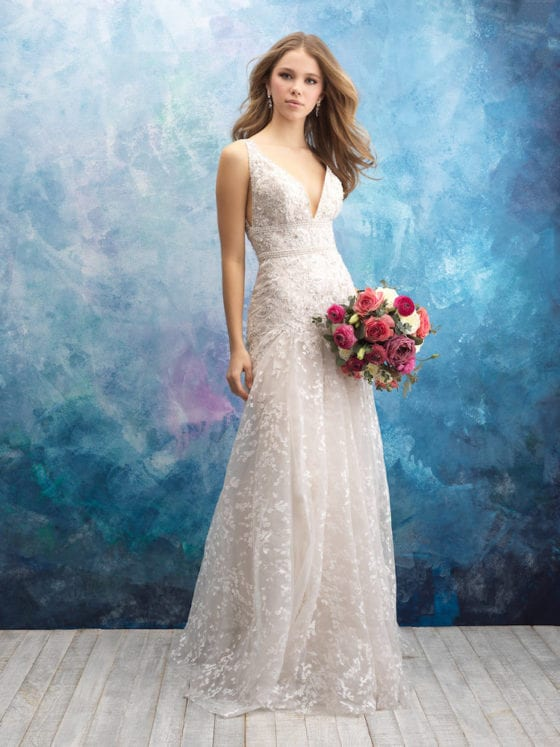 Allure Bridals Gown Style 9572