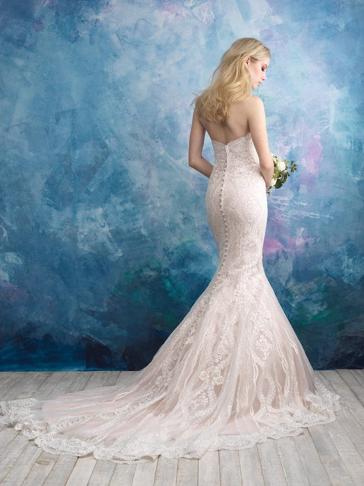Allure Bridals Gown Style 9574