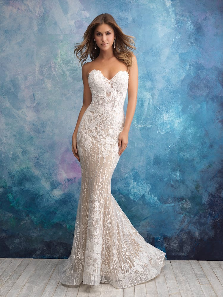 ALLURE BRIDALS GOWN STYLE 9550