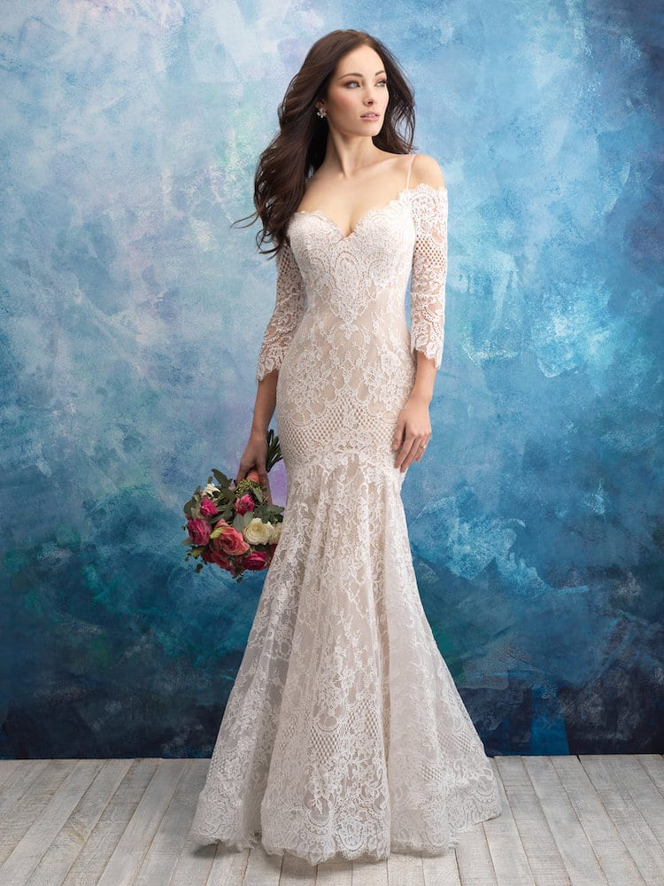 Allure Bridals gown Style 9551