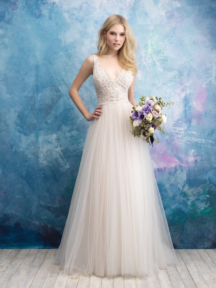 ALLURE BRIDALS GOWN STYLE 9552