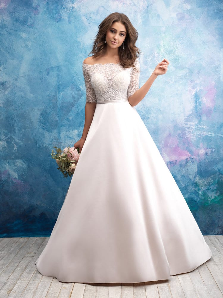 Allure Bridals Gown Style 9553