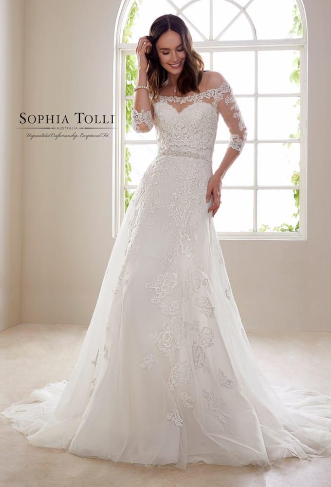 Sophia Tolli Y21827 Zirconia