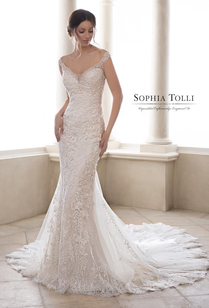Sophia Tolli Y21828 Cobalt
