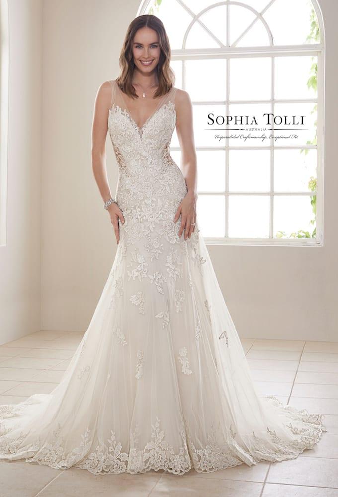 Sophia Tolli Y21830 mAGNESITE