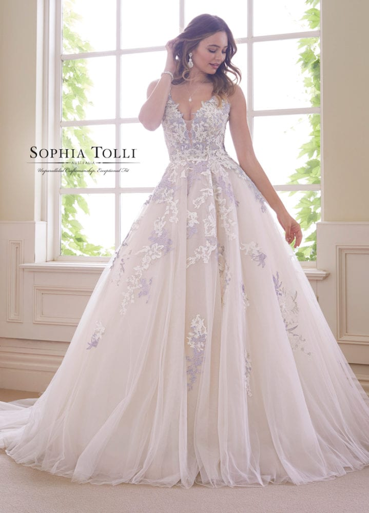 Sophia Tolli Y21834 Tanzanite