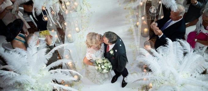 Debbie and Mal's Castle Wedding