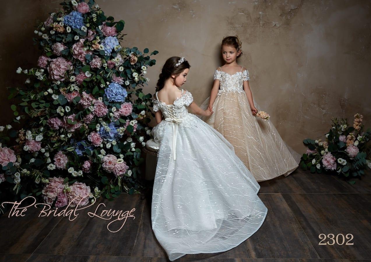 Paris flower girl, communion and birthday party dress