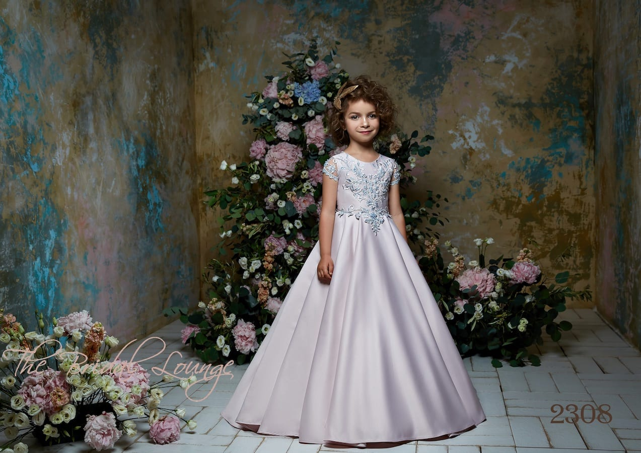 Couture flower girl, communion and birthday party dress