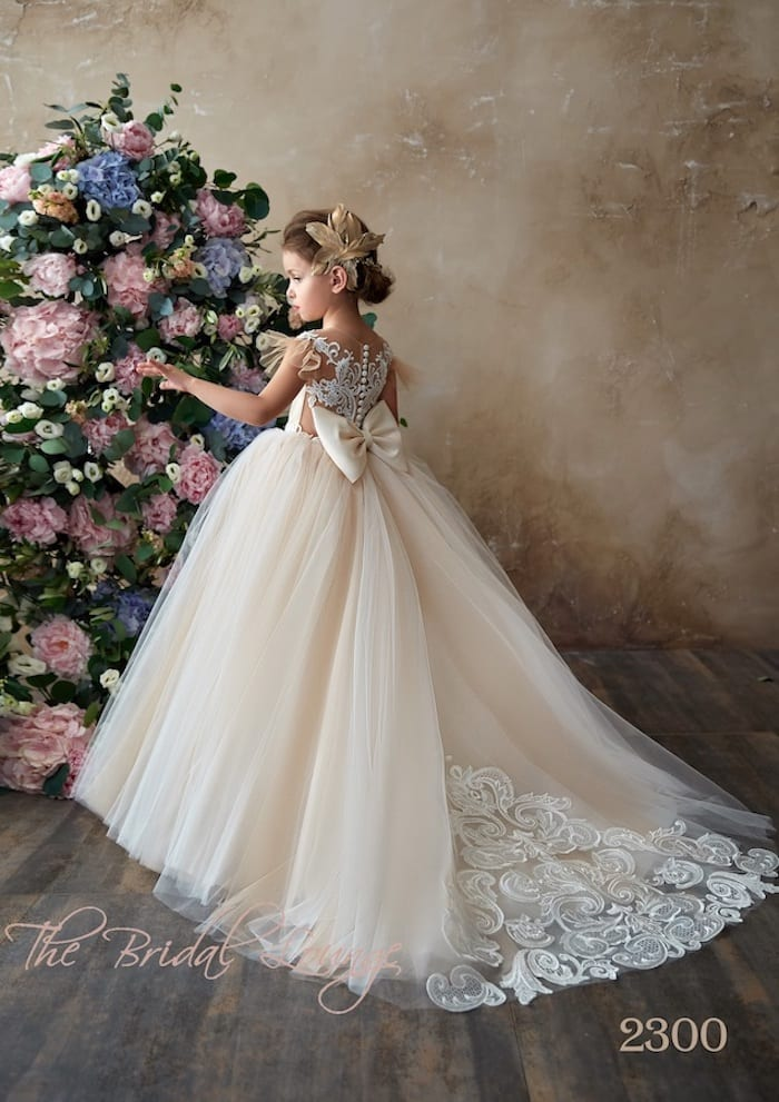Sophia Flower Girl, Communion and Party Gown