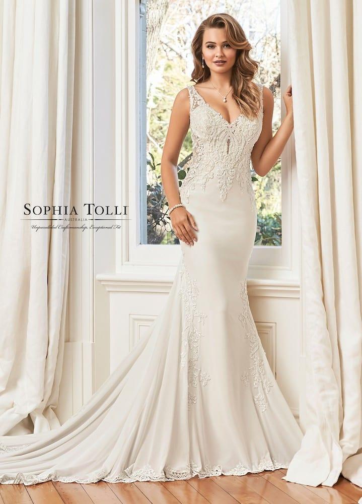 Sophia Tolli y11950 summer