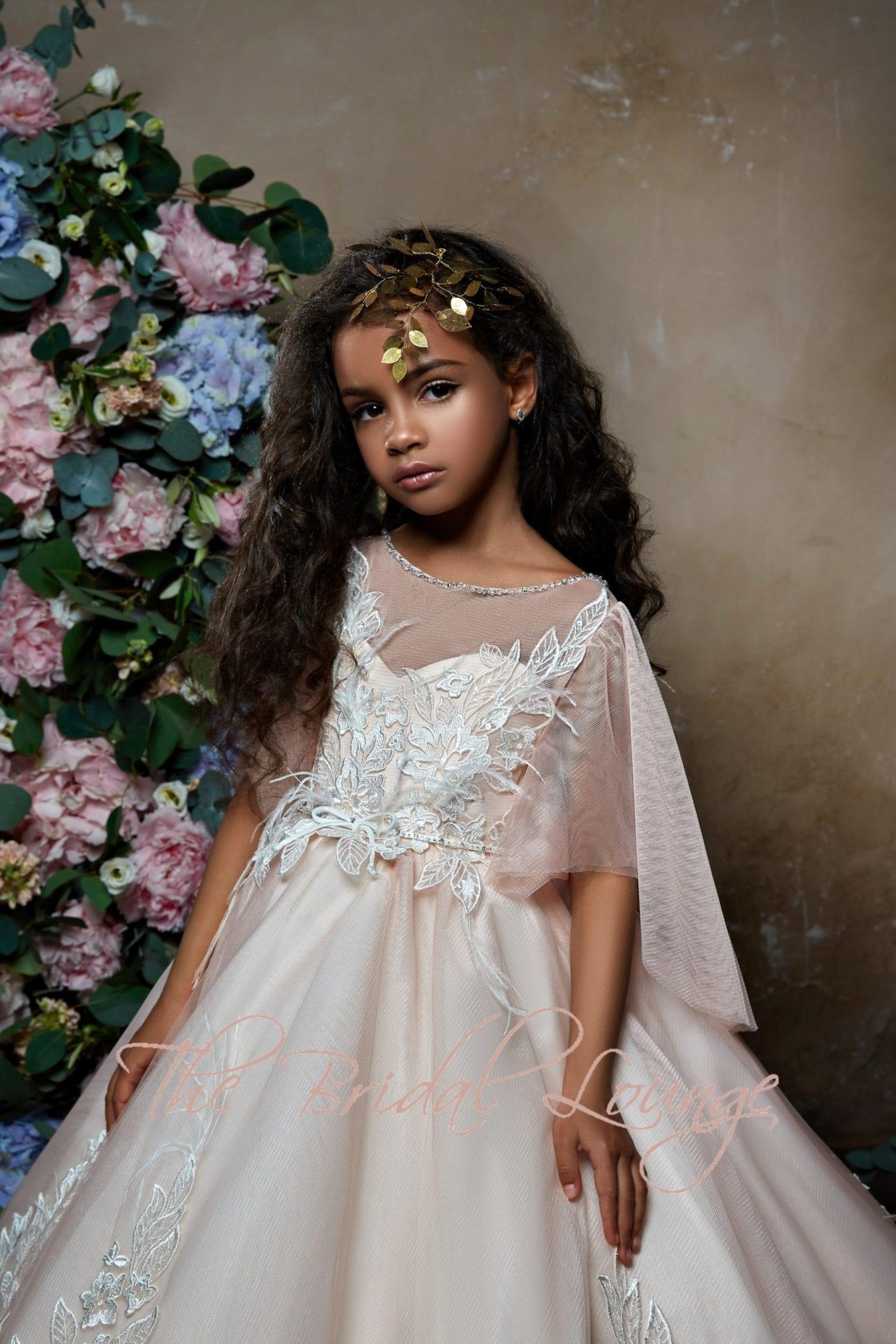 Pentelei flower girl dress 2303