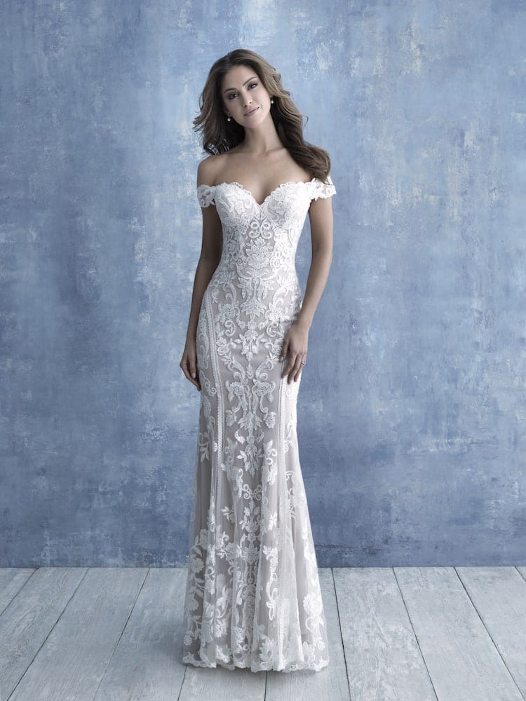 allure bridals gown style 9704