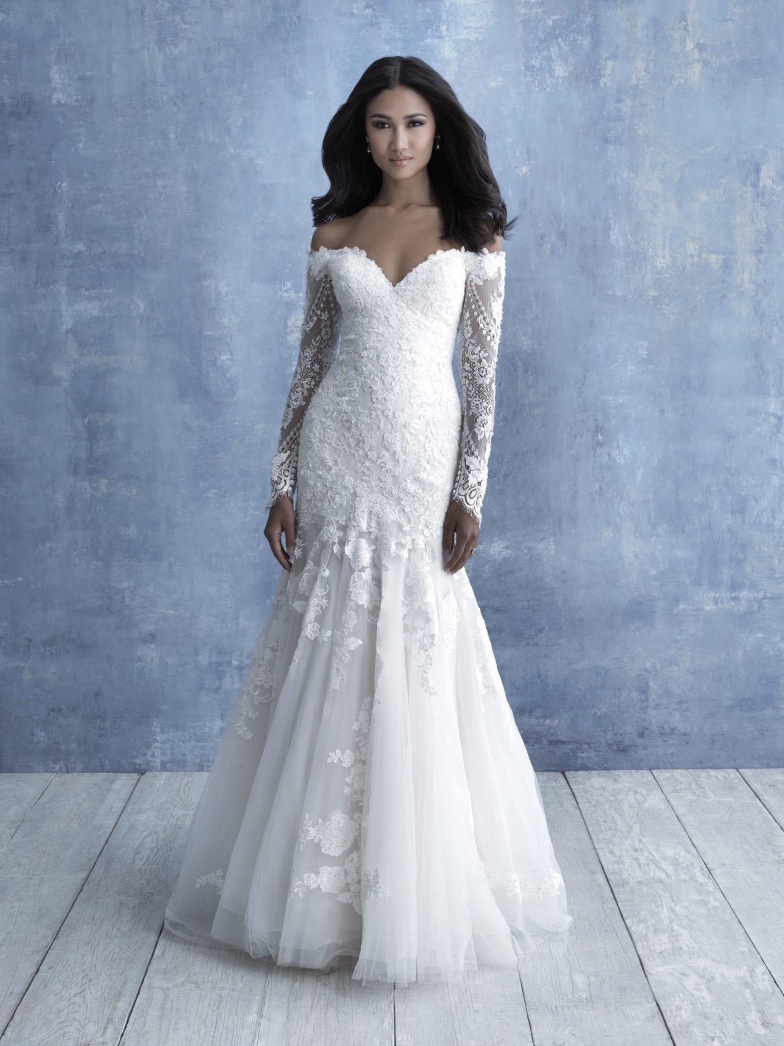 allure Bridals Gown 9706
