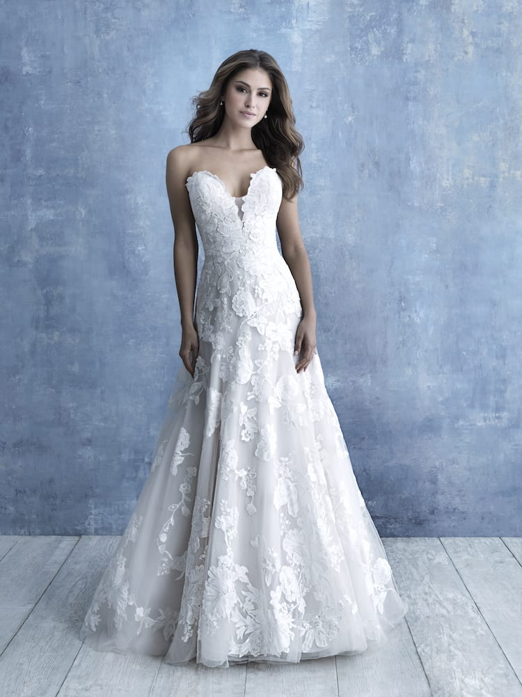 allure bridals gown style 9708