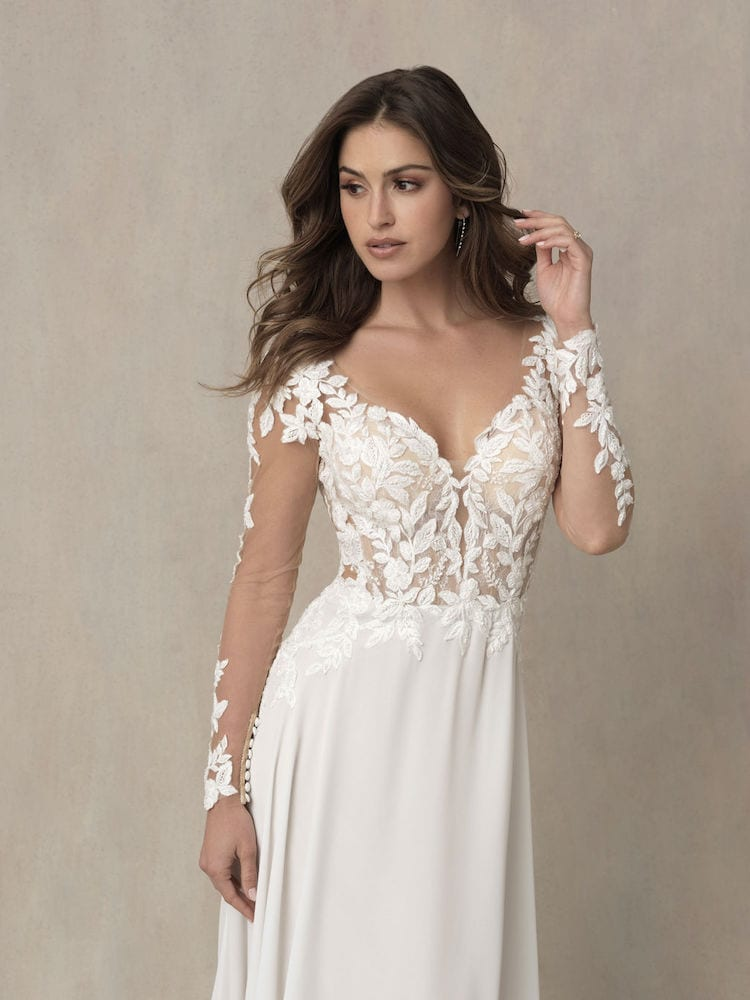Allure Bridals Gown Style 9858