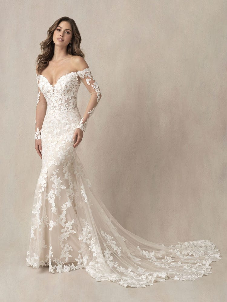 Allure Bridals Gown Style 9863