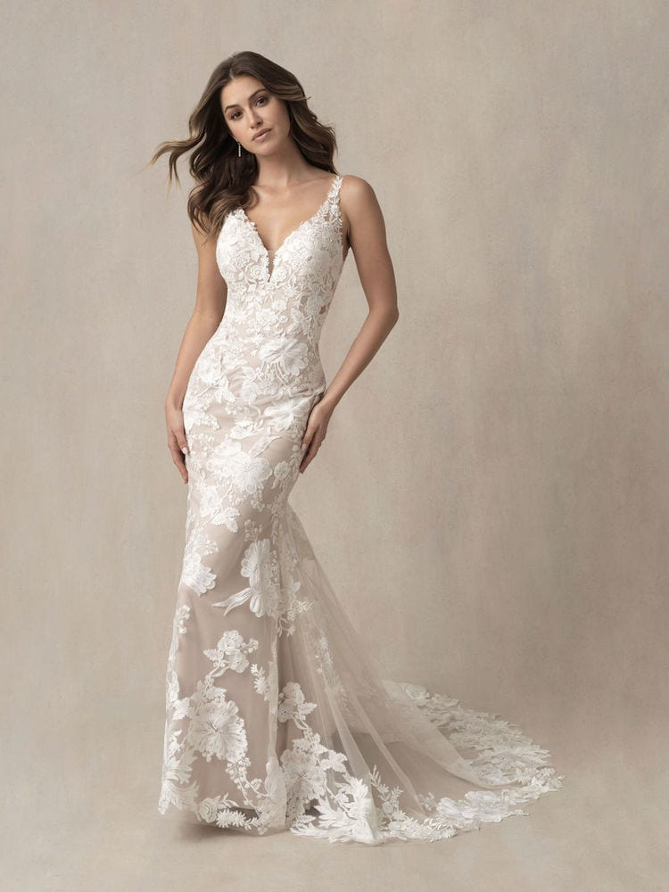Allure Bridals Gown Style 9865